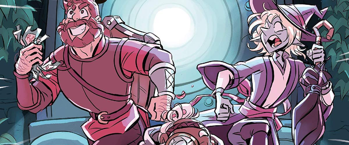 INTERVIEW: Carey Pietsch, Clint & Travis McElroy on adapting THE ADVENTURE ZONE: MURDER ON THE ROCKPORT LIMITED! from an actual-play podcast to a graphic novel