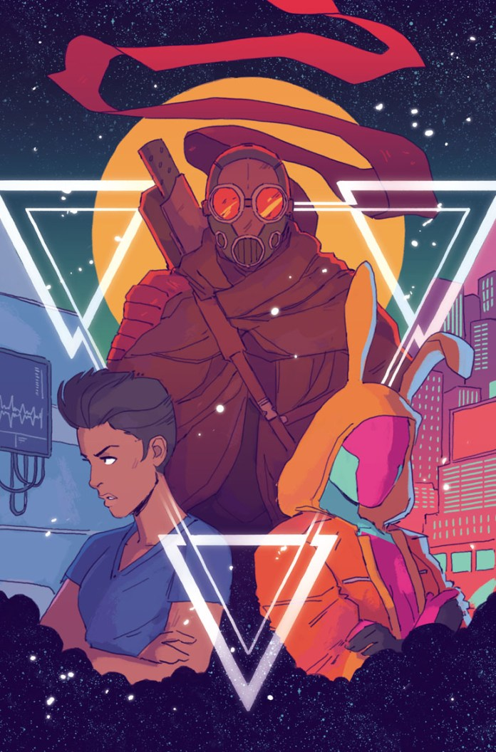 Triage #1 variant cover art by Hannah Templer
