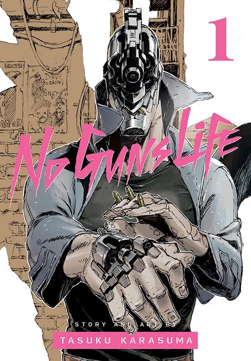 VIZ September Cover Preview: No Guns Life