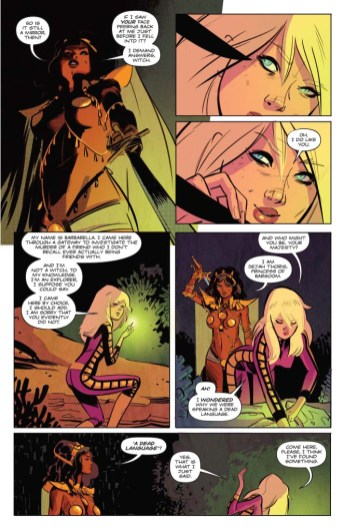 Barbarella/Dejah Thoris trade paperback