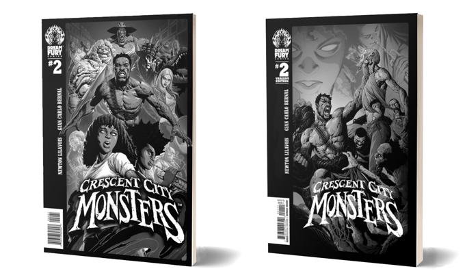 Crescent City Monsters: Issue #2