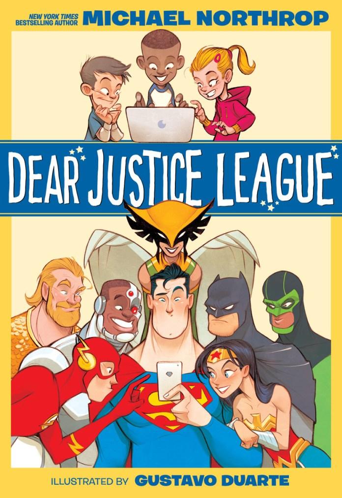 Dear Justice League Cover
