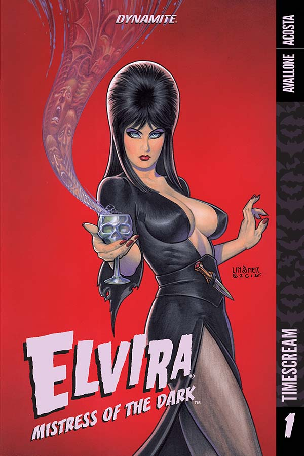 EXCLUSIVE PREVIEW: ELVIRA: MISTRESS OF THE DARK VOL. 1 journeys through horror history