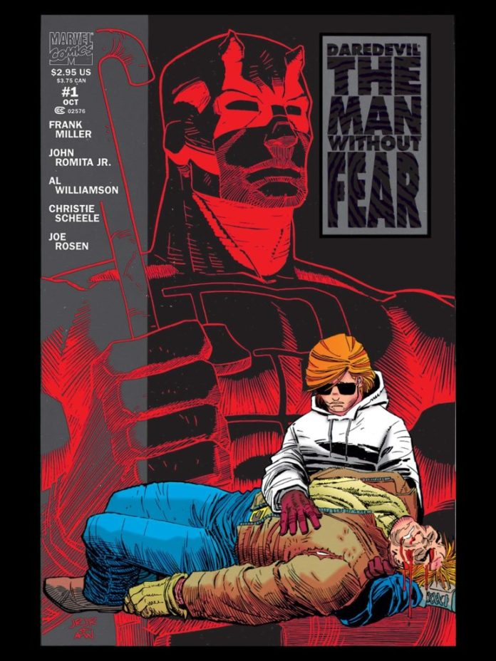 Daredevil: Man Without Fear launch missing from Marvel Comics #1000