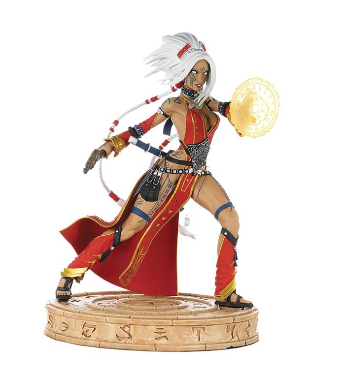 Pathfinder Seoni statue