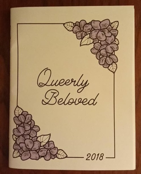 The Queerly Beloved booklet from the podcast Queer's The Thing.