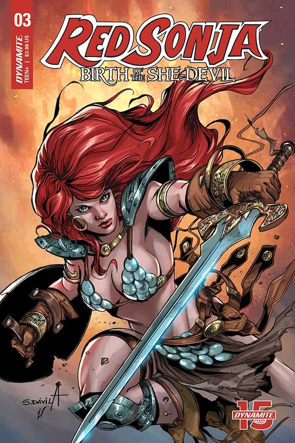 Red Sonja Birth of the She-Devil