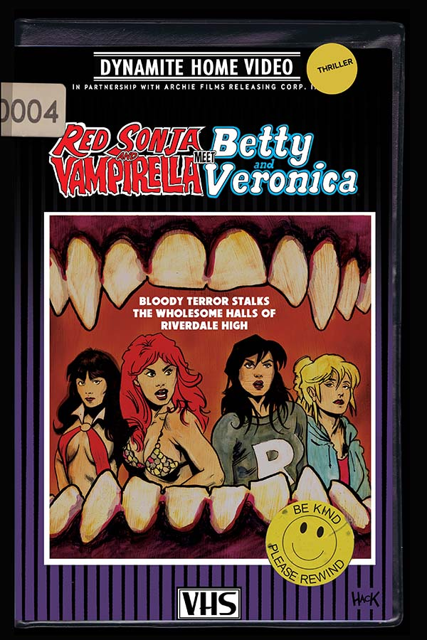 Red Sonja & Vampirella Meet Betty & Veronica #4