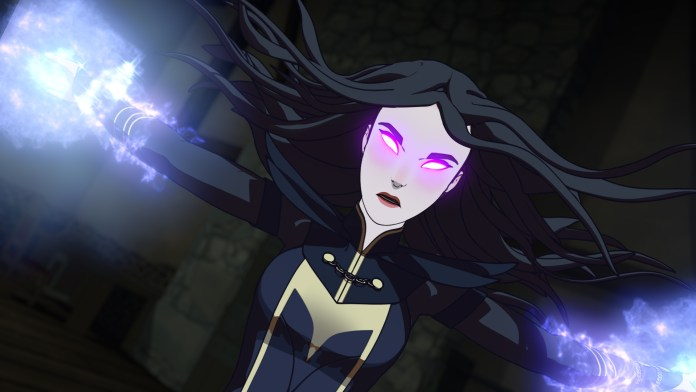 Claudia in The Dragon Prince