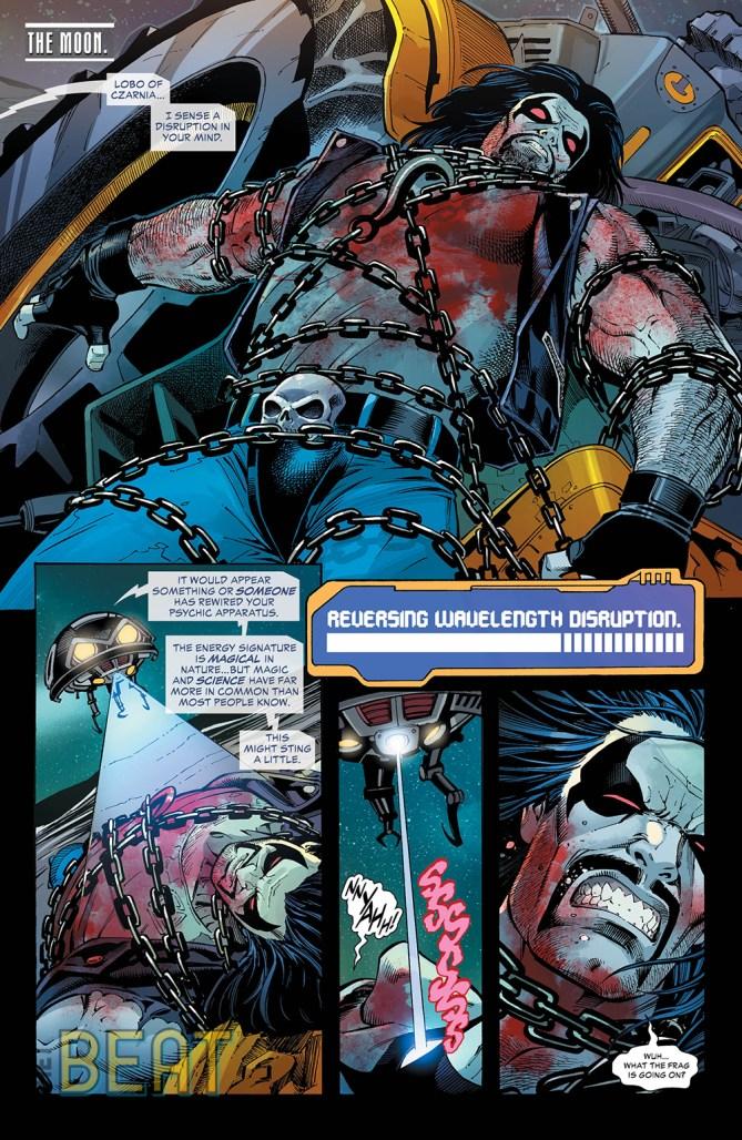 Teen Titans #33 Preview