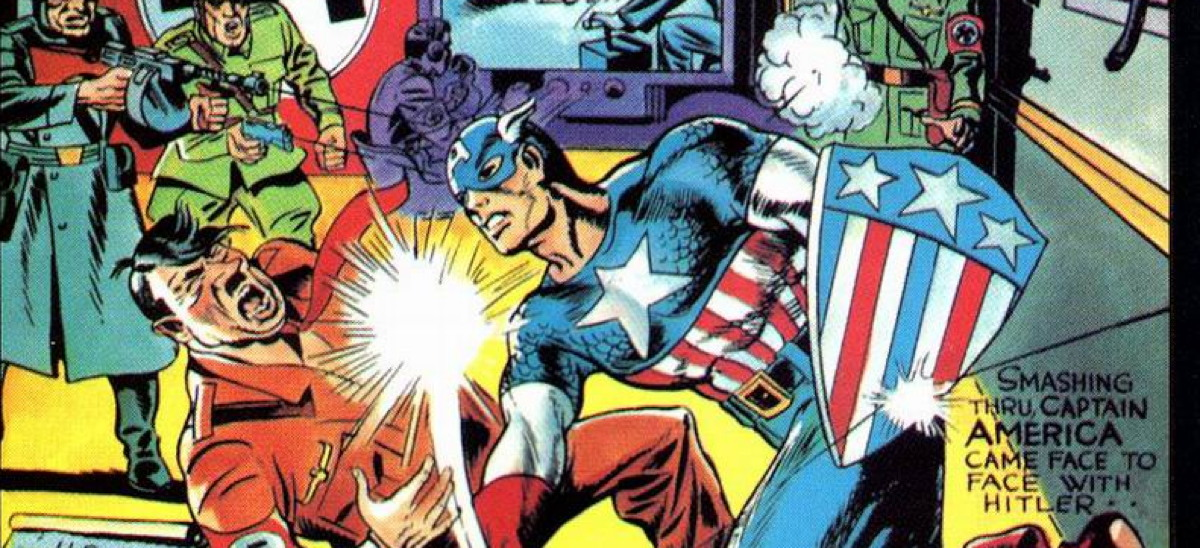 captain america golden age