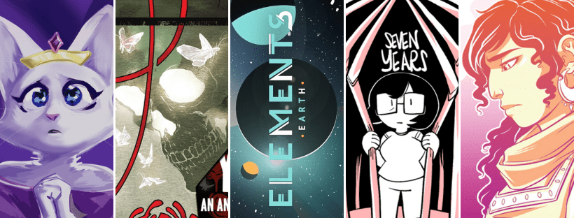 The Scourge of Ninepoint, YOU DIED, ELEMENTS: Earth, Sad Comics Good Pins, NPC Tea