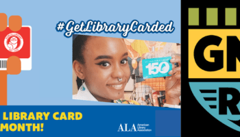 #GetLibraryCarded campaign