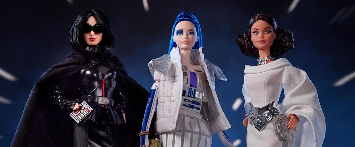 Mattel reveals STAR WARS x BARBIE dolls inspired by A NEW HOPE