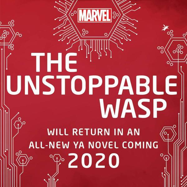 the unstoppable wasp ya novel