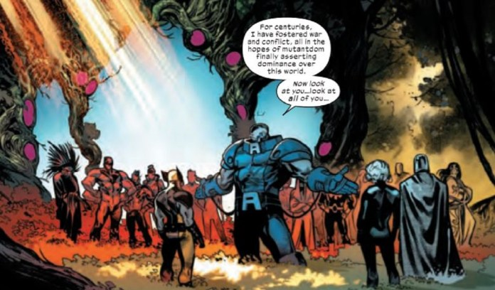 Brotherhood arrive to Krakoa