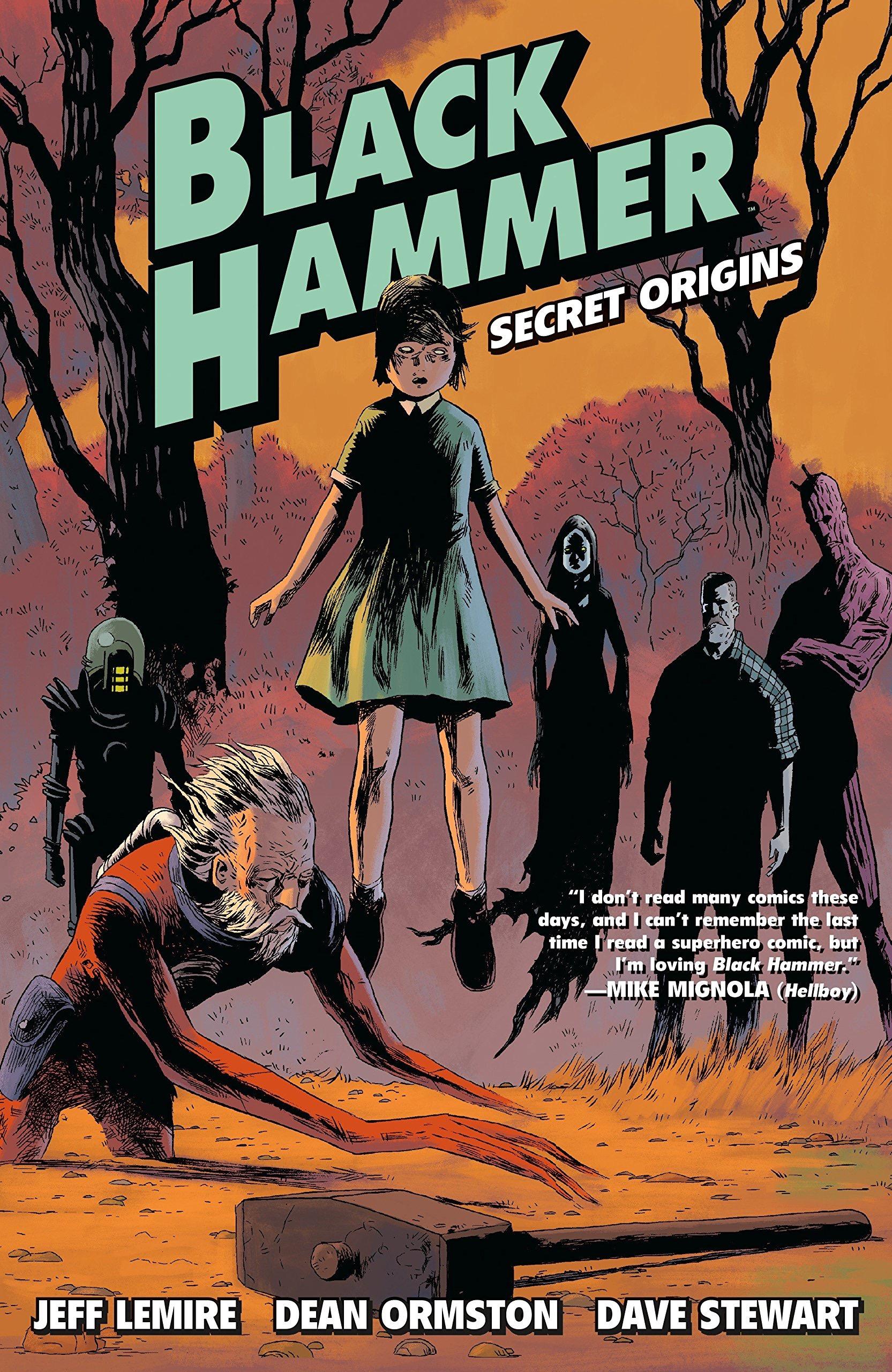 Jeff Lemire interview Black Hammer