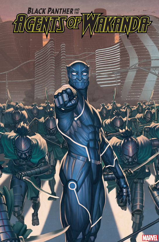 BLACK PANTHER & THE AGENTS OF WAKANDA 2099 VARIANT