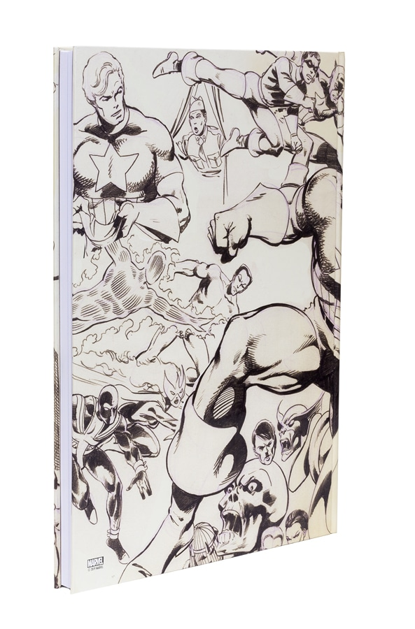 John Byrne's Marvel Classics Artifact Edition - back