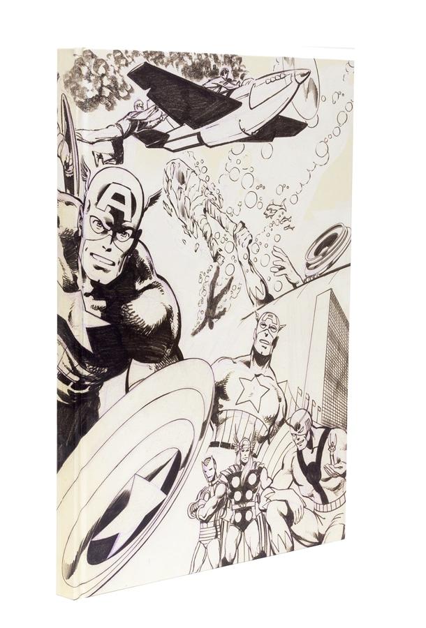 John Byrne's Marvel Classics Artifact Edition front