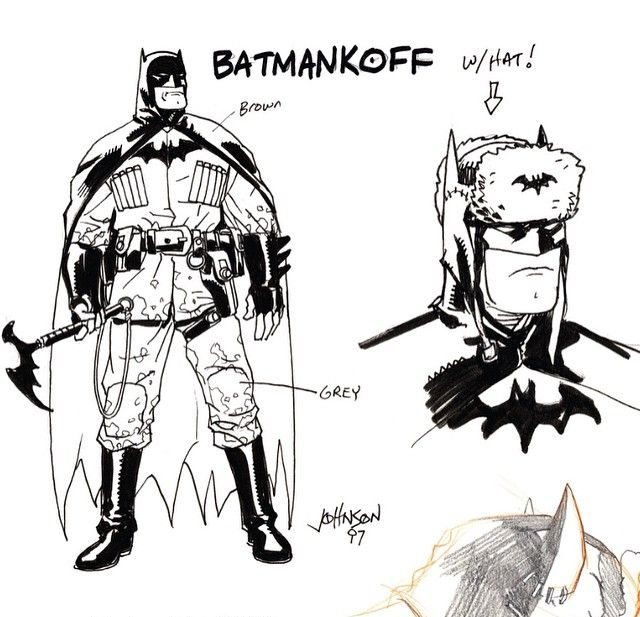 Early Look At Batmankoff In Superman Red Son Animated The Beat