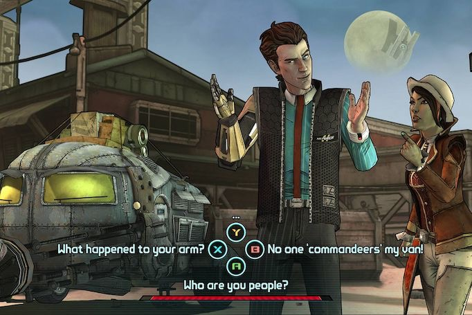 Borderlands conversation