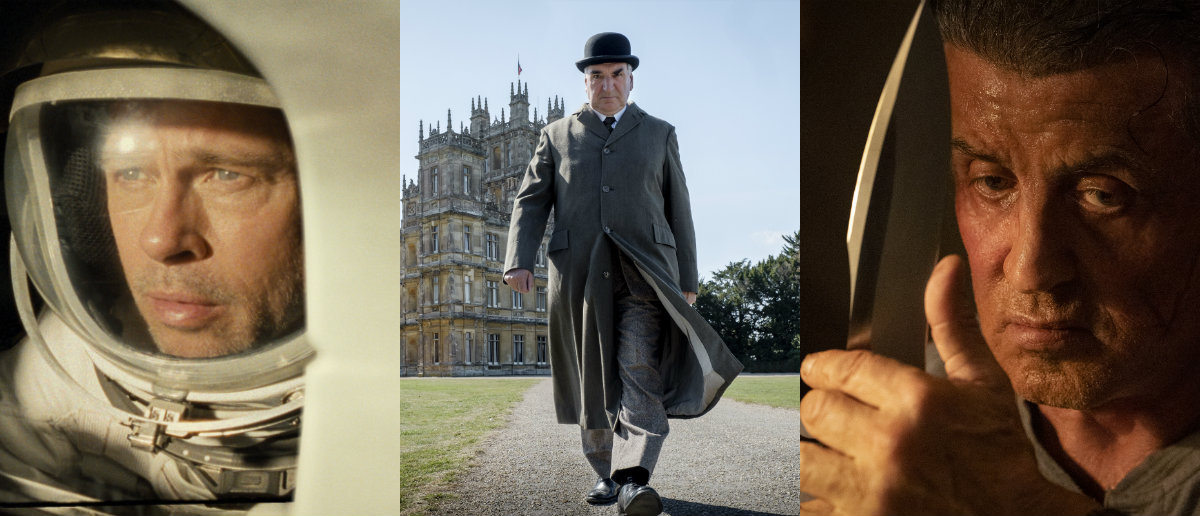 Box Office Preview – Can DOWNTON ABBEY hold off Brad Pitt's AD ASTRA and Stallone's RAMBO?