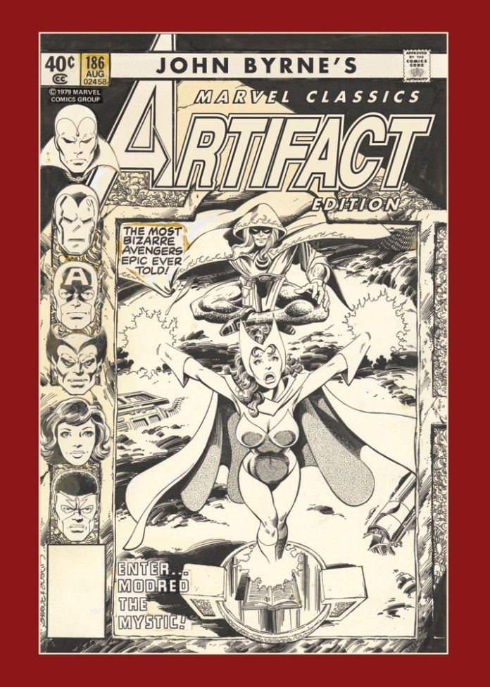 Regular cover of John Byrne's Marvel Classics Artifact Edition