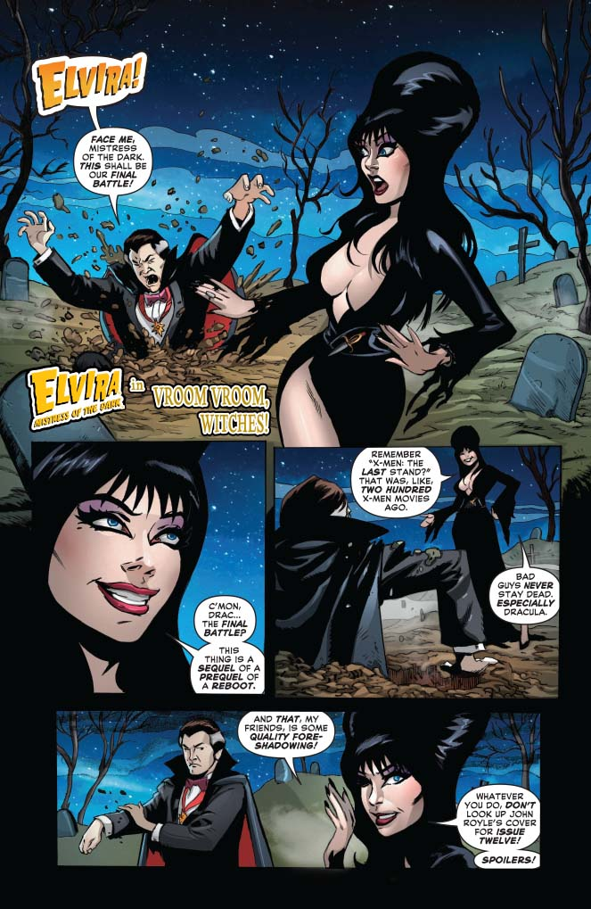 Elvira: Mistress of the Dark #9
