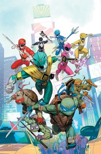 BOOM! Studios December 2019 solicits: Mighty Morphin Power Rangers/TMNT #1