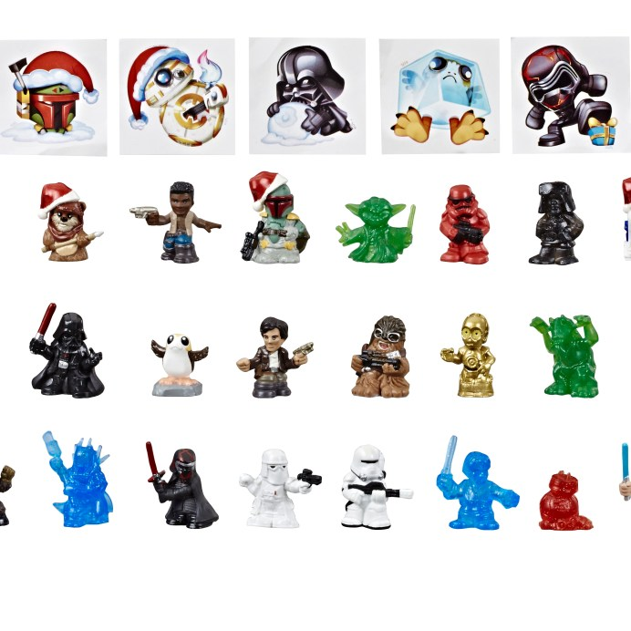 Micro Force Advent Calendar Figures