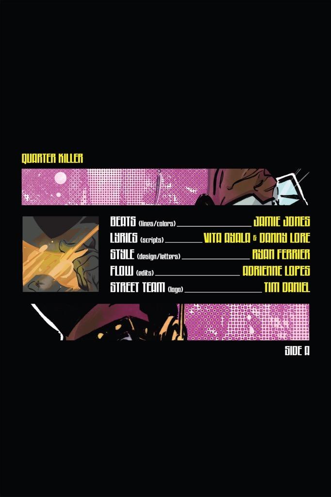 quarter killer comic credits