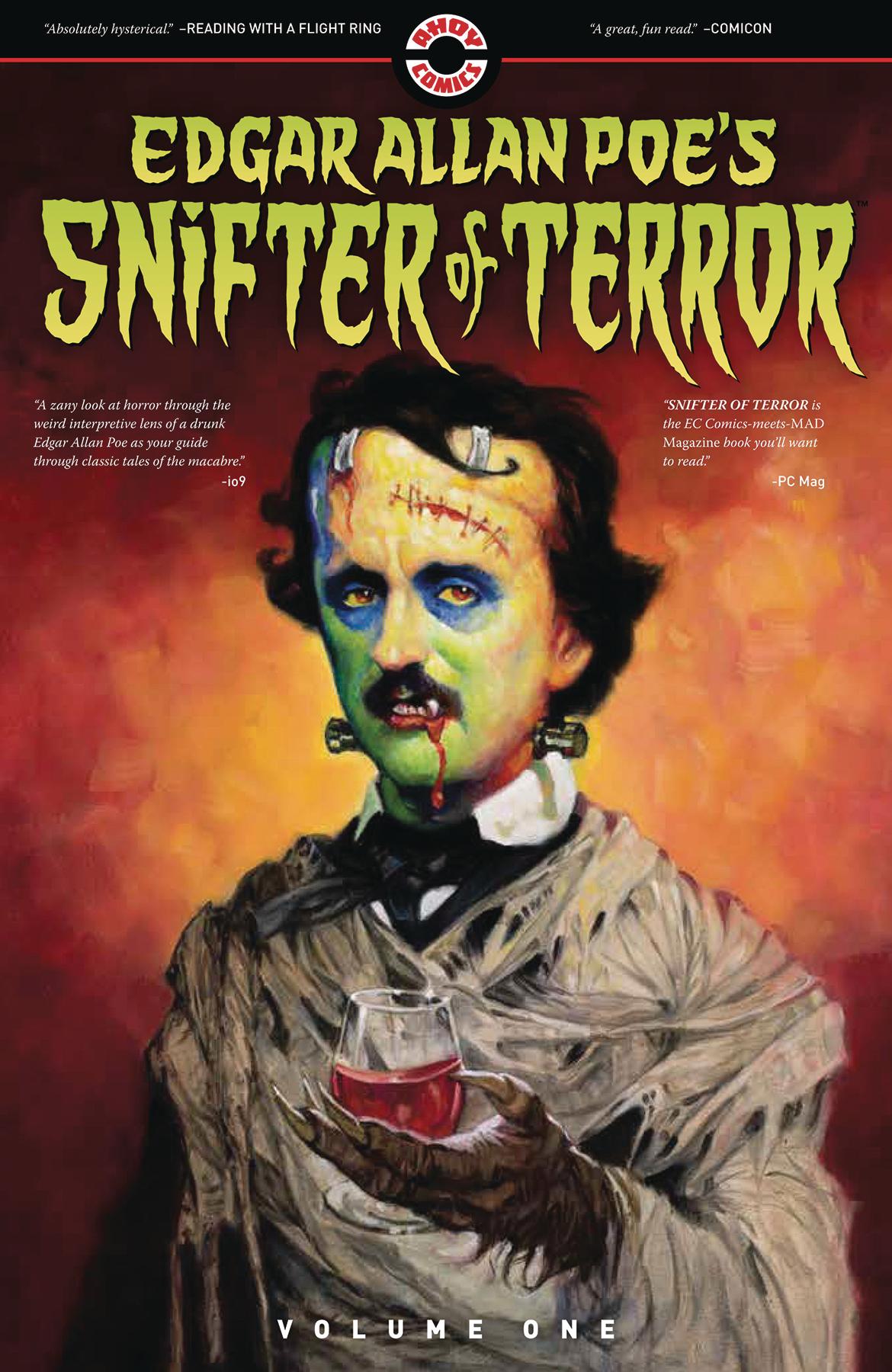 Edgar Allan Poe Ahoy