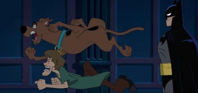Preview clips of the latest Scooby-Doo/Batman cartoon team-up!