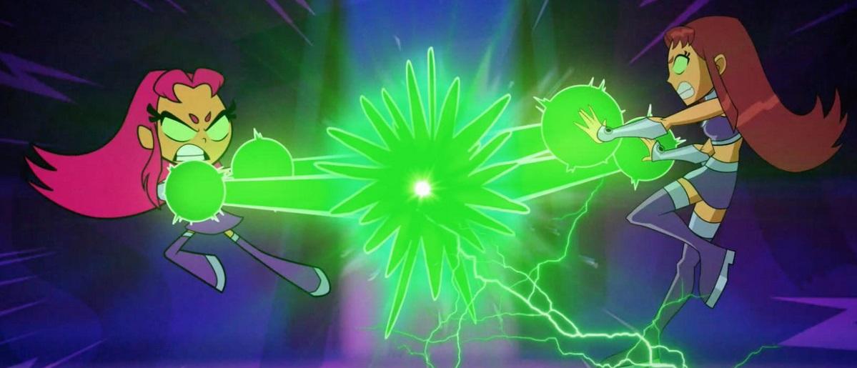 Titans clash in TEEN TITANS GO! VS. TEEN TITANS clip