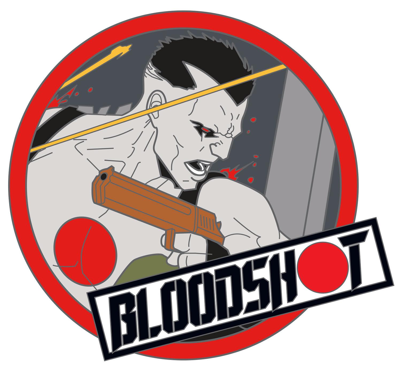 Bloodshot pin