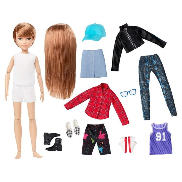 Creatable World doll and clothing