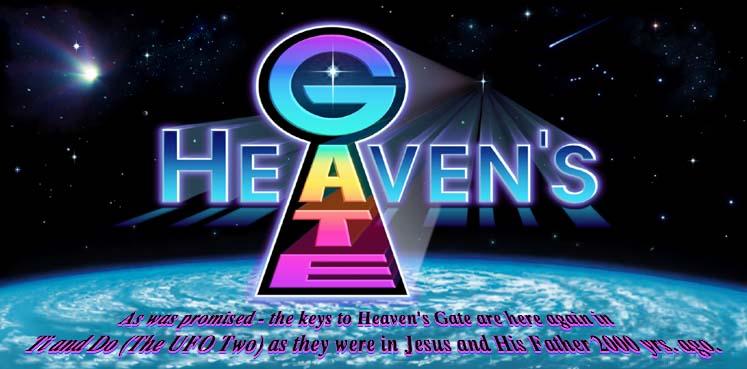 image from Heaven's Gate website, logo