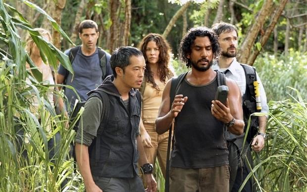 The LOST crew in season 4