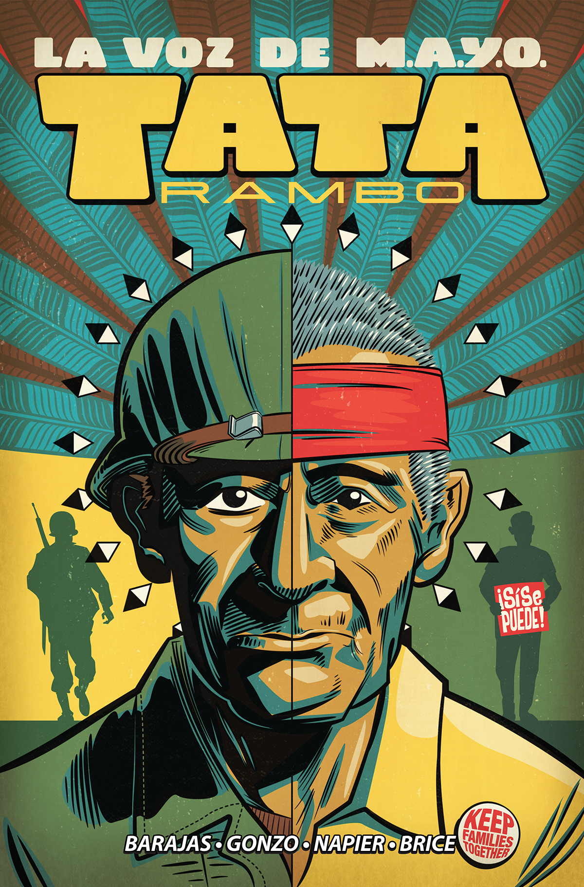 Graphic Novels for Fall 2019: La Voz De M.A.Y.O.: Tata Rambo, Vol. 1