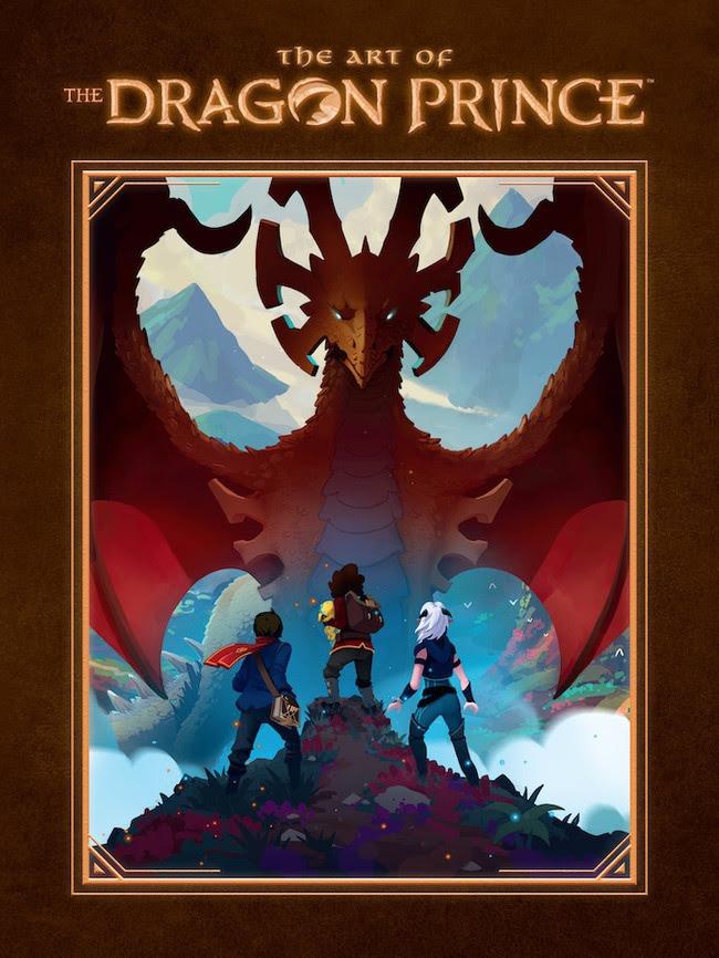 dragon prince art book