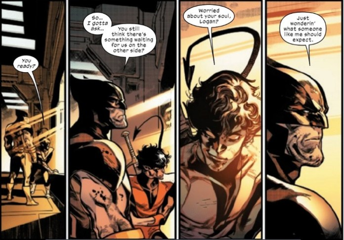 HiX-men Moment of the Week: Nightcrawler and Wolverine redefine 'Best Friends Forever'