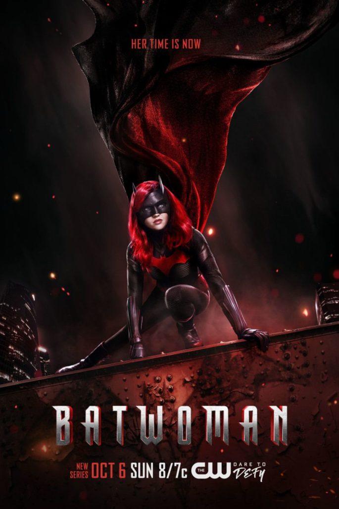Batwoman Actress Rachel Skarsten stars in this new CW show, advertised here via key art poster