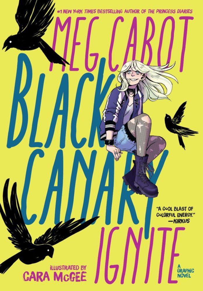 Black Canary: Ignite Cover