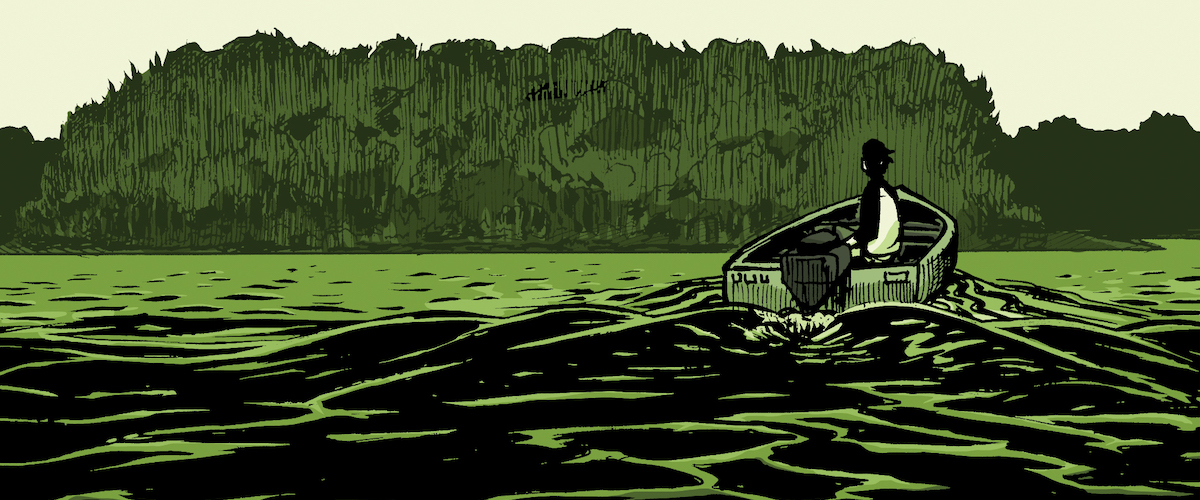 EXCLUSIVE: Archaia announces THE DOWN RIVER PEOPLE from Adam Smith & Matt Fox