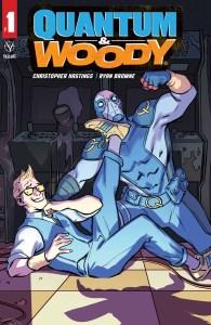 Valiant January 2020 solicits: Quantum & Woody #1