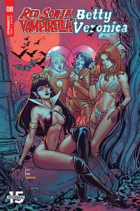 Dynamite January 2020 solicits: Red Sonja & Vampirella Meet Betty & Veronica #8