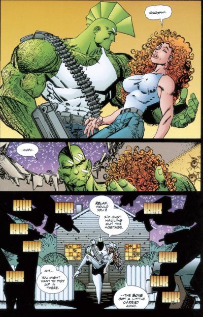 Savage Dragon babe