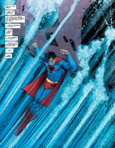 SUPERMAN YEAR ONE - Supes saves sub