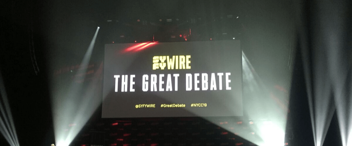 "NYCC '19: SYFYWire's ""The Great Debate"" panel draws laughter and thumbs up (and down)"